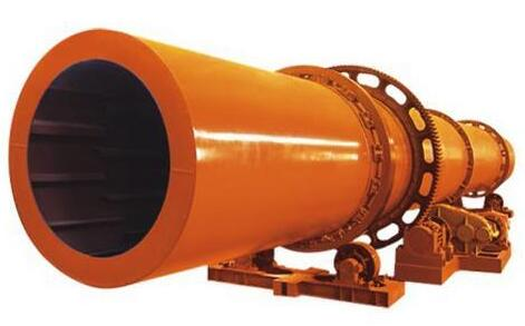 Horizontal rotary dryer