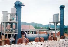 Alumina processing production line